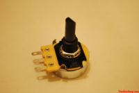 securing the potentiometer